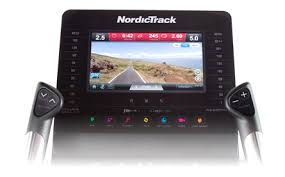 iFit Elliptical 2018 - NordicTrack Touch Display