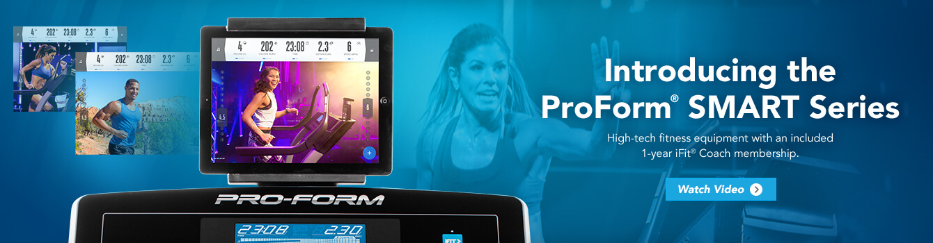 The ProForm Smart Series Includes Ellipticals With One Year Free iFit