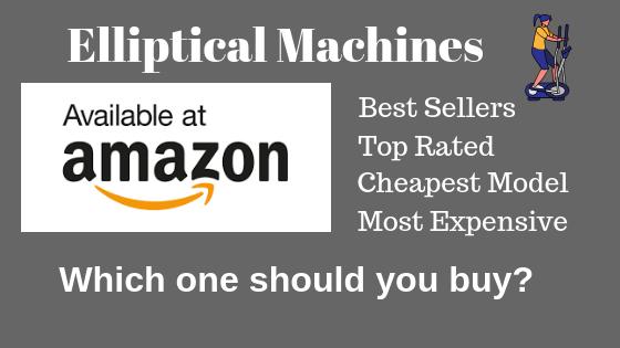 Elliptical at Amazon